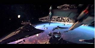 Image result for star wars space battles