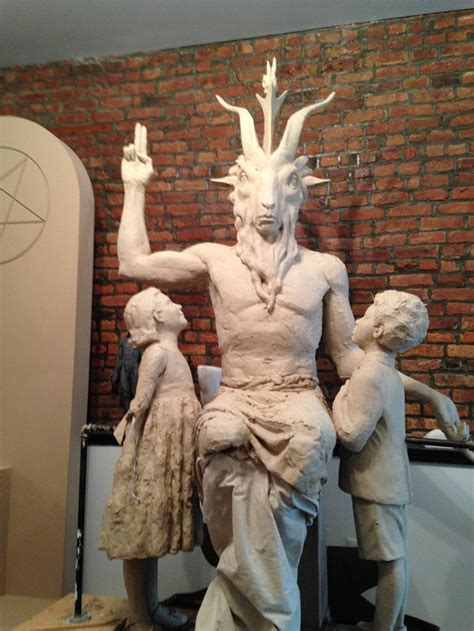 Image result for satanic temple statue