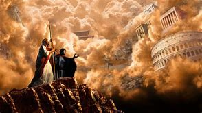 Image result for satan offers jesus the world