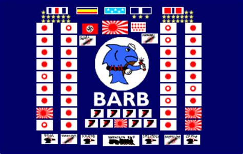 Image result for submarine flag USS Barb