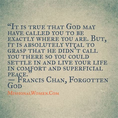 Image result for Quotes by Francis Chan