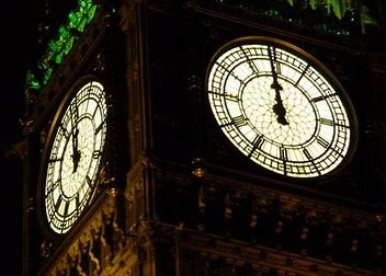 Image result for clock strikes midnight