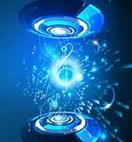 Image result for Futuristic Music. Size: 149 x 160. Source: freedesignfile.com
