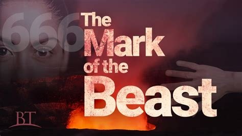 Image result for Mark of the Beast image of the beast