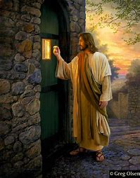 Image result for jesus knocking at the door