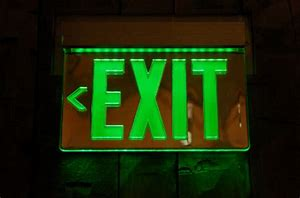 Image result for exit signs