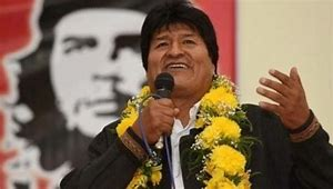 Bolivian Commie Evo Morales and his vice president, Álvaro García Linera, Step Down…