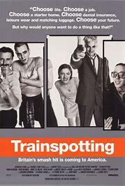 Résultat d'images pour trainspotting film poster