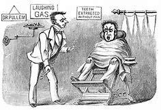 Image result for Dr. Horace Wells became the first person to have a tooth extracted