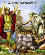 Image result for israelites worshiped molech and baal in the high places