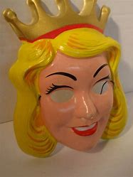 Image result for cinderella 1970's face mask