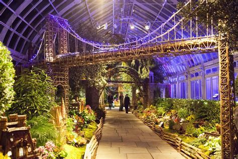 Image result for botanical garden train show