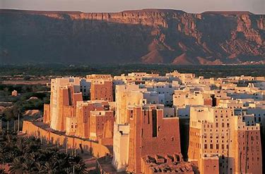 Image result for Old Walled City of Shibam Yemen