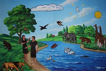 Image result for Creation Story. Size: 154 x 103. Source: ouroutofsynclife.com
