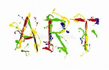 Image result for Art Word. Size: 213 x 137. Source: www.dreamstime.com