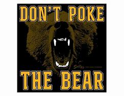 Image result for don't poke the bear