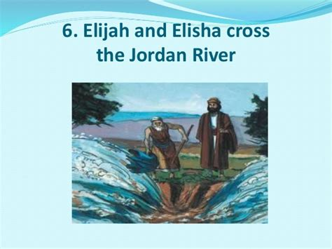 Image result for Elijah and Elisha walking to the Jordan River