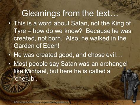 Image result for satan possessessed the king of tyre