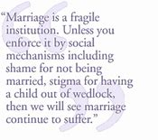 Image result for married is an illegitimate institution