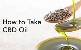 Image result for cbd oil and how to take it