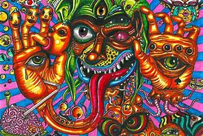 Image result for people high on drugs at raves getting possessed