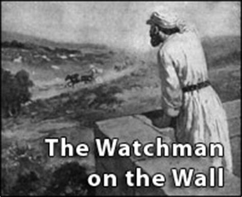 Image result for watchman on the wall