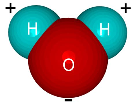 Image result for H2O Water Molecule