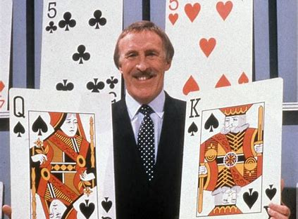 Image result for bruce forsyth play your cards right images
