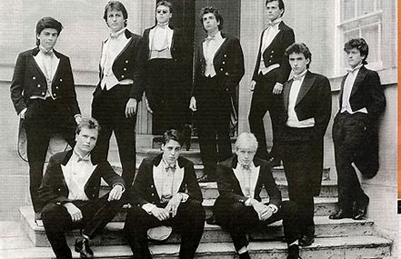 Image result for bullingdon club photograph