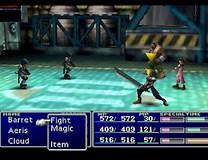 Image result for FF7 Battle. Size: 208 x 160. Source: josephsgamingcorner.blogspot.com