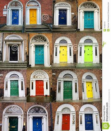 Image result for images of colorful doors