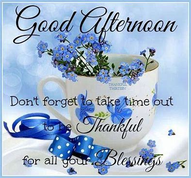 Image result for Thursday Afternoon Blessings