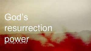 Image result for God's rresurrection power