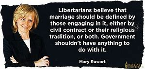 Image result for libertarians on marriage