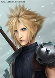 Image result for Who Is Cloud Strife In Final Fantasy Vii?. Size: 113 x 160. Source: archaediastudios.deviantart.com