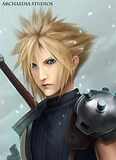 Image result for Who is Cloud Strife in Final Fantasy VII?. Size: 116 x 160. Source: archaediastudios.deviantart.com