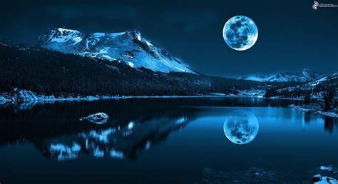 Resultado de imagen de imagenes de la luna y su reflejo