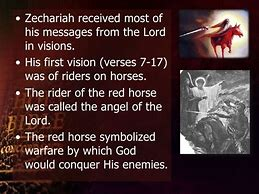 Image result for zechariah's visions