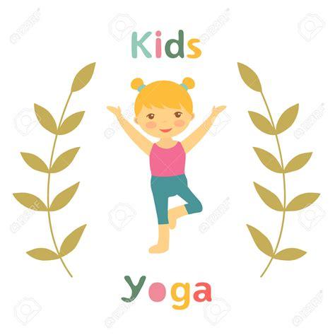 Image result for kids yoga clip art