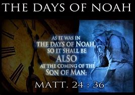Image result for we live in a wicked world of sin and depravity as in the day's of Noah