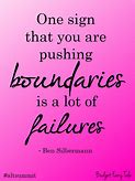 Image result for images for pushing the boundaries or reason