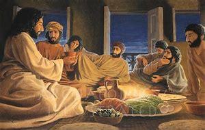 Image result for jesus last supper pics