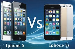 Image result for What is the difference between the iPhone 5 and the 5S?. Size: 247 x 160. Source: blog.kara.com.ng