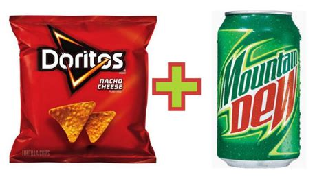 Image result for doritos and mountain dew