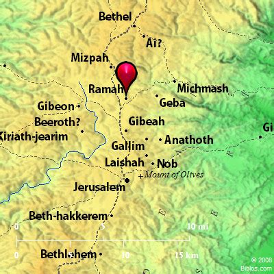 Image result for burial place of Samueel in the Bible in Ramah