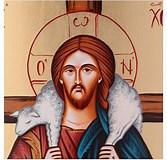 Obraz znaleziony dla: Dobry Pasterz. Rozmiar: 167 x 160. Źródło: www.holyart.pl