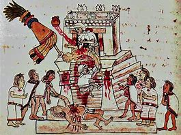 Image result for images zapotec ritual sacrifice