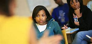 Image result for black students in class