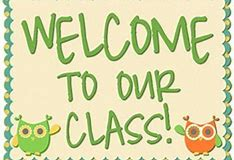 Image result for clip art welcome class 3