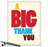 Image result for a big thank you images